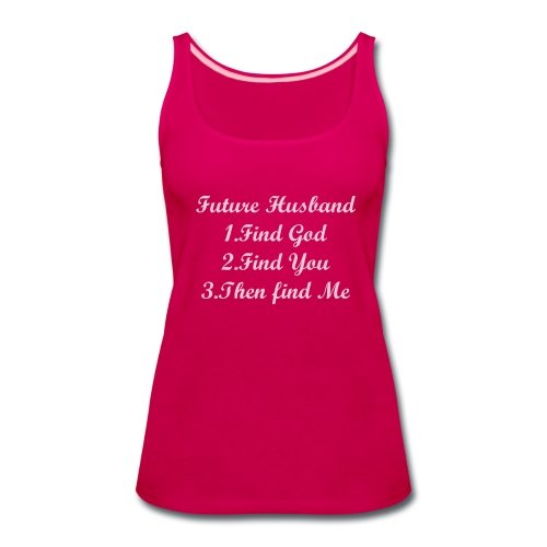MY FUTURE HUSBAND - Women's Premium Tank Top