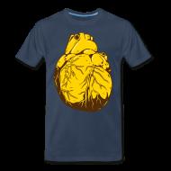 T-Shirts ~ Men's Premium T-Shirt ~ Heart Of Gold (Men's Shirt)
