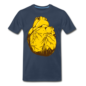 Heart Of Gold (Men's Shirt) - Men's Premium T-Shirt