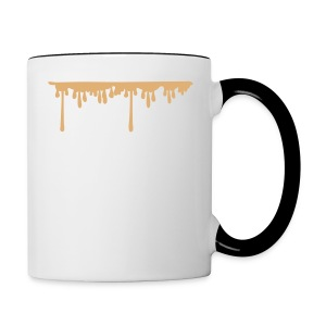 coffee drop Contrast Coffee Mug - Contrast Coffee Mug