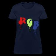 Women's T-Shirts ~ Women's T-Shirt ~ RGB Women's T-Shirt