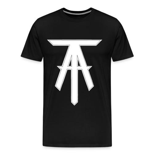 Logo T-Shirt (Black) - Men's Premium T-Shirt