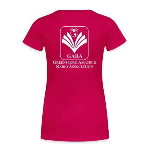 Ladies T-Shirt with Callsign and Logo - Women's Premium T-Shirt