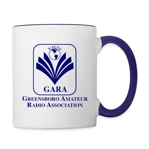 GARA Logo Mug - Blue - Contrast Coffee Mug