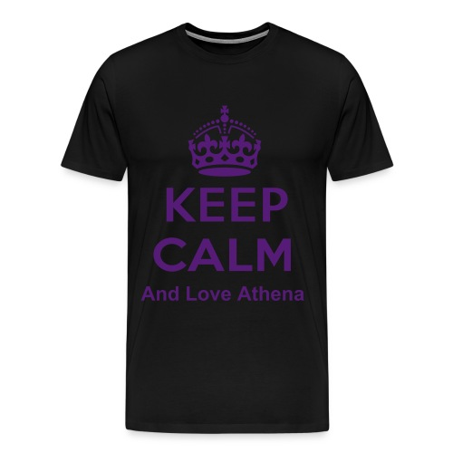 AthenaMC Love shirt - Men's Premium T-Shirt