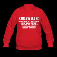 Hoodies ~ Women's Hooded Sweatshirt ~ Kronwalled
