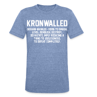 T-Shirts ~ Unisex Tri-Blend T-Shirt by American Apparel ~ Kronwalled