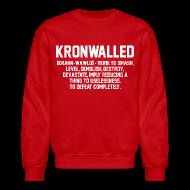 Long Sleeve Shirts ~ Men's Crewneck Sweatshirt ~ Kronwalled