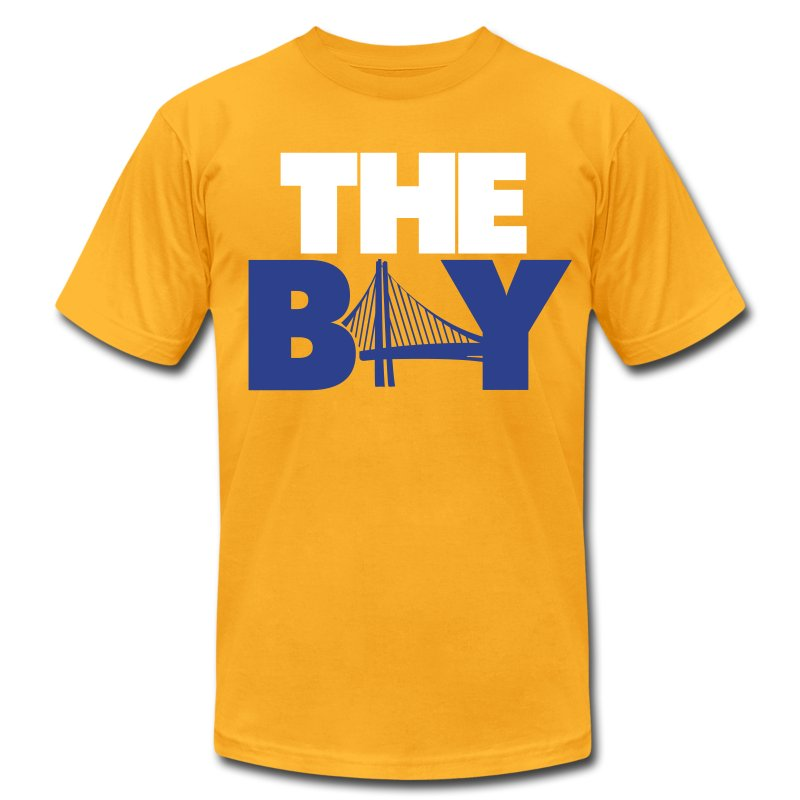 The bay yellow t shirt spreadshirt for South bay t shirts