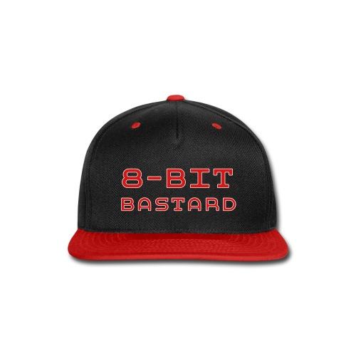 8-BIT BASTARD Snap-Back Ball Cap - Snap-back Baseball Cap