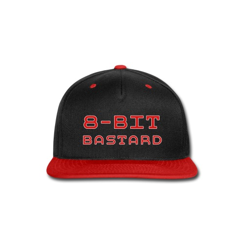 8-BIT BASTARD Snap-Back Ball Cap - Snap-back Baseball Cap
