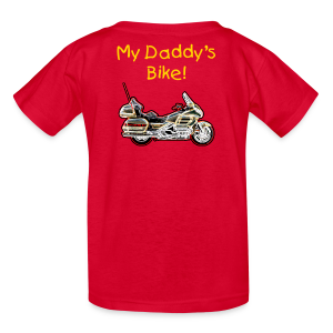 Children's T Wing Red Custom - Kids' T-Shirt