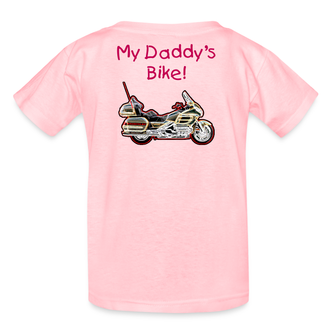 Children's T Wing Pink Custom