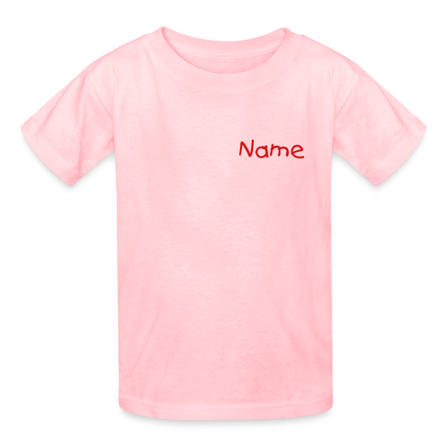 Children's T Voy Pink Custom