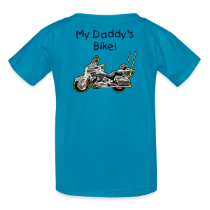 Children's T Ven Turquoise Custom - Kids' T-Shirt