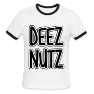 T-Shirts ~ Men's Ringer T-Shirt ~ Deez Nutz T-Shirts