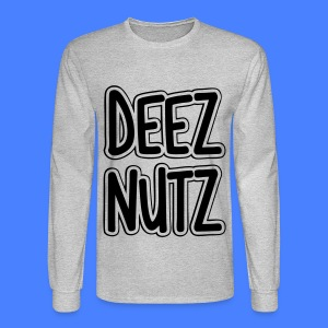 Deez Nutz Long Sleeve Shirts - Men's Long Sleeve T-Shirt