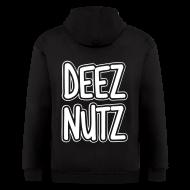 Zip Hoodies & Jackets ~ Men's Zip Hoodie ~ Deez Nutz Zip Hoodies & Jackets