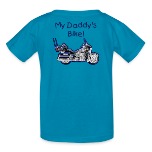 Children's T HD Turquoise Custom - Kids' T-Shirt
