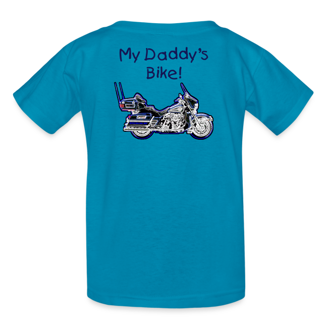 Children's T HD Turquoise Custom