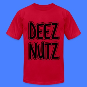 Deez Nutz T-Shirts - Men's T-Shirt by American Apparel