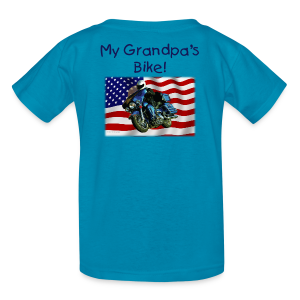 Children's T Back US Flag HarGrandpa's Custom - Kids' T-Shirt