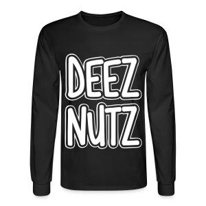 Deez Nutz Long Sleeve Shirts - Men's Long Sleeve T-Shirt