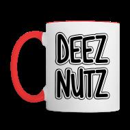 Mugs & Drinkware ~ Contrast Coffee Mug ~ Deez Nutz Mugs & Drinkware