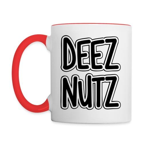 Deez Nutz Mugs & Drinkware - Contrast Coffee Mug