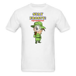Stay Frosty! Splash Logo - 'Lil Ike (Standard) - Men's T-Shirt