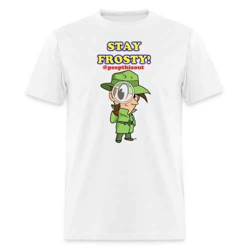 Stay Frosty! Splash Logo - 'Lil Ike (Standard) - Men's T-Shirt
