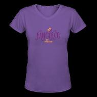 T-Shirts ~ Women's V-Neck T-Shirt ~ Article 101892450