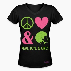 Peace, Love, and Afros