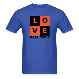 Baltimore Love 2-color Men's Blue - Men's T-Shirt