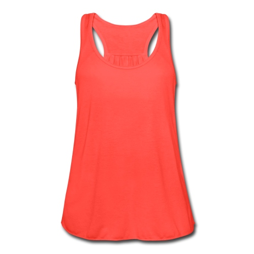 Pink French Summer Top - Women's Flowy Tank Top by Bella