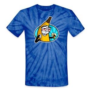 Unisex Tie Dye T-Shirt - webcomic,loadingartist,loading,gregor,czaykowski,comic,bananabalism,banana,artist
