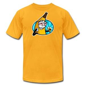 Men's Fine Jersey T-Shirt - webcomic,loadingartist,loading,gregor,czaykowski,comic,bananabalism,banana,artist