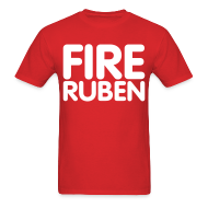 T-Shirts ~ Men's T-Shirt ~ Fire Ruben Shirt