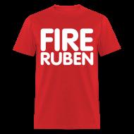 T-Shirts ~ Men's T-Shirt ~ Fire Ruben Shirt