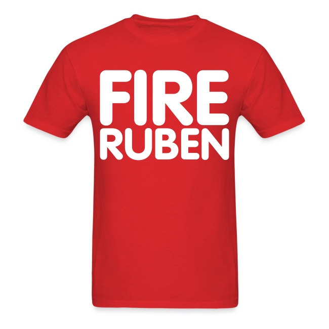Fire Ruben Shirt