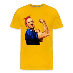 Maddox the Riveter Art - Men's Premium T-Shirt