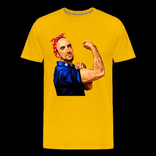 Maddox the Riveter Art - Men's Premium T-Shirt