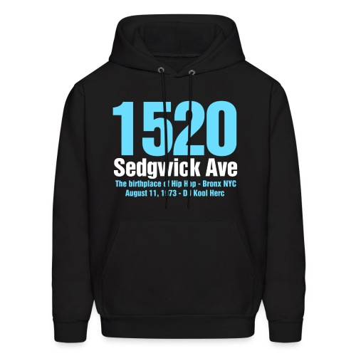 The Birthplace of Hip Hop - Men's Hoodie
