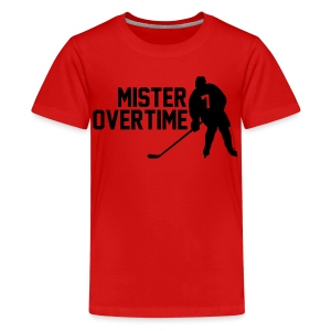 Mr Overtime - Kids' Premium T-Shirt