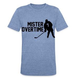 Mr Overtime - Unisex Tri-Blend T-Shirt