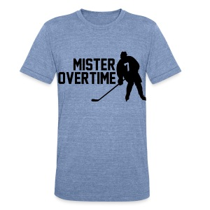 Mr Overtime - Unisex Tri-Blend T-Shirt