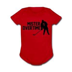 Mr Overtime - Short Sleeve Baby Bodysuit