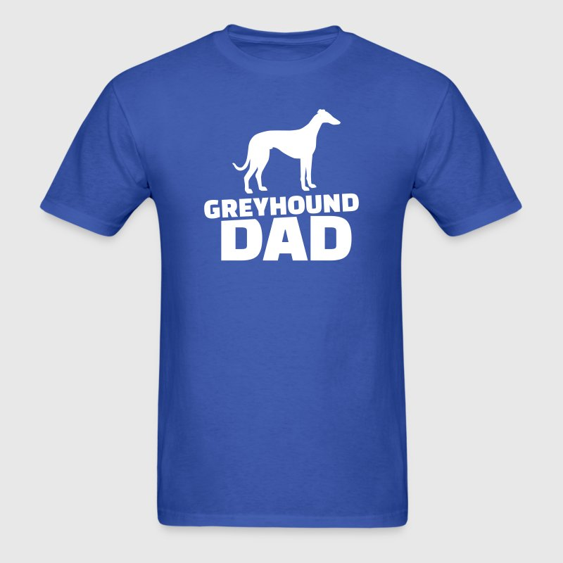 Greyhound Dad T-Shirts - Men's T-Shirt