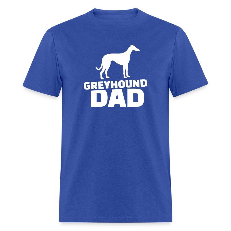 Greyhound T Shirts Rescue Greyhound Dad T-Shirt ...