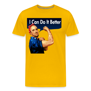 Maddox the Riveter - Men's Premium T-Shirt